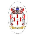Asplin Sticker (Oval 50 pk)