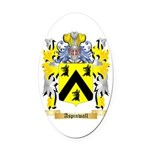 Aspinwall Oval Car Magnet