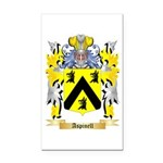 Aspinell Rectangle Car Magnet