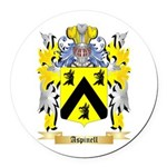 Aspinell Round Car Magnet