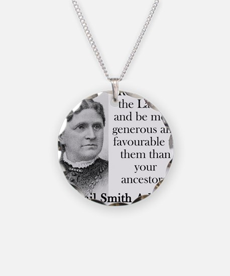 Remember The Ladies - Abigail Adams Necklace