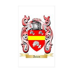 Askin Sticker (Rectangle 50 pk)