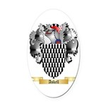 Askell Oval Car Magnet