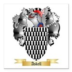 Askell Square Car Magnet 3