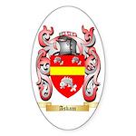 Askam Sticker (Oval 50 pk)