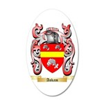 Askam 20x12 Oval Wall Decal