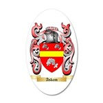 Askam 35x21 Oval Wall Decal