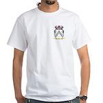 Ask White T-Shirt