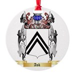 Ask Round Ornament