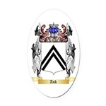 Ask Oval Car Magnet