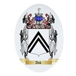 Ask Ornament (Oval)