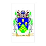 Asipenko Sticker (Rectangle 50 pk)