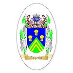 Asipenko Sticker (Oval)