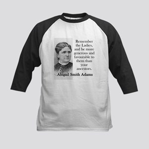 Remember The Ladies - Abigail Adams Baseball Jerse