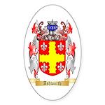 Ashworth Sticker (Oval 10 pk)