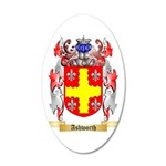 Ashworth 35x21 Oval Wall Decal