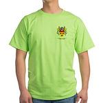 Ashkenazic Green T-Shirt