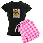 Ashkenazic Women's Dark Pajamas