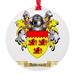 Ashkenazic Round Ornament
