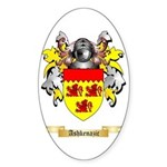 Ashkenazic Sticker (Oval)