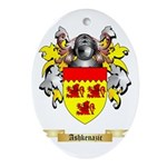 Ashkenazic Ornament (Oval)