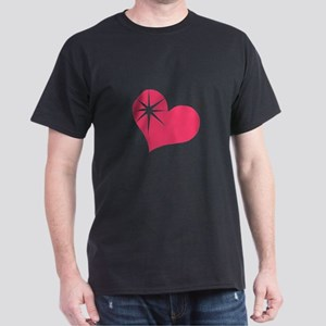 Blasted heart Dark T-Shirt