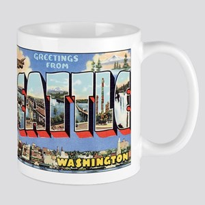 Greetings from Seattle Mugs