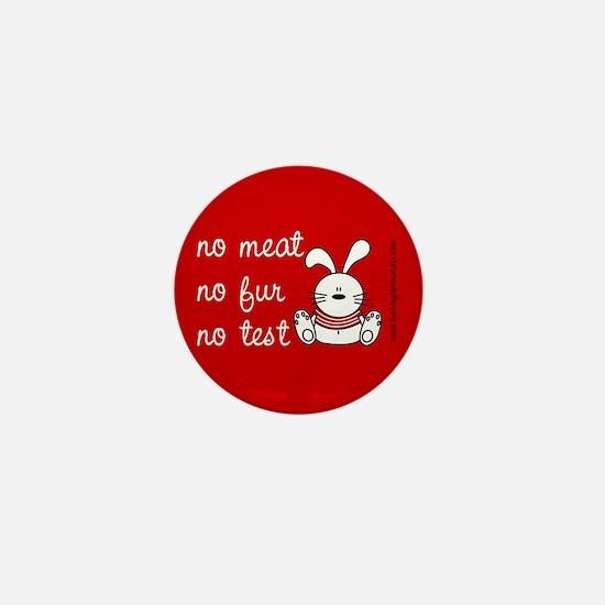 Funny Meat lover Mini Button