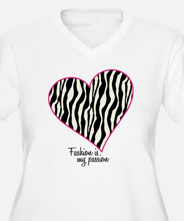 Zebra Fashion Passion T-Shirt