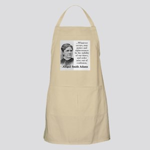 Whatever Occurs - Abigail Adams Light Apron
