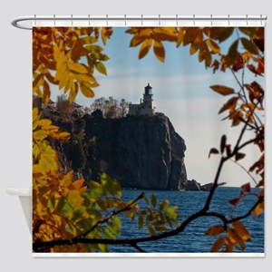 Split Rock Lighthouse Shower Curtain