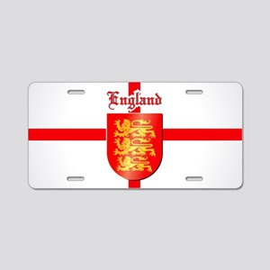 The Royal Arms of England Aluminum License Plate