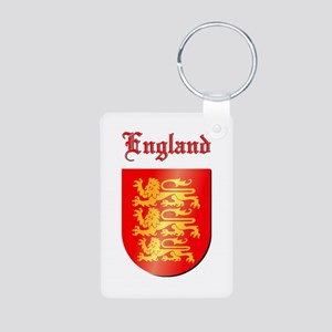 The Royal Arms of England Aluminum Photo Keychain