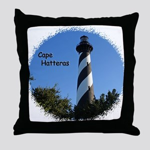 Cape Hatteras Lighthouse Throw Pillow