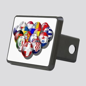 Europe Soccer Rectangular Hitch Cover