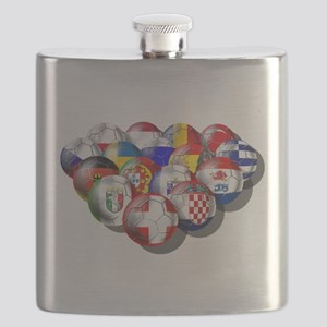 Europe Soccer Flask