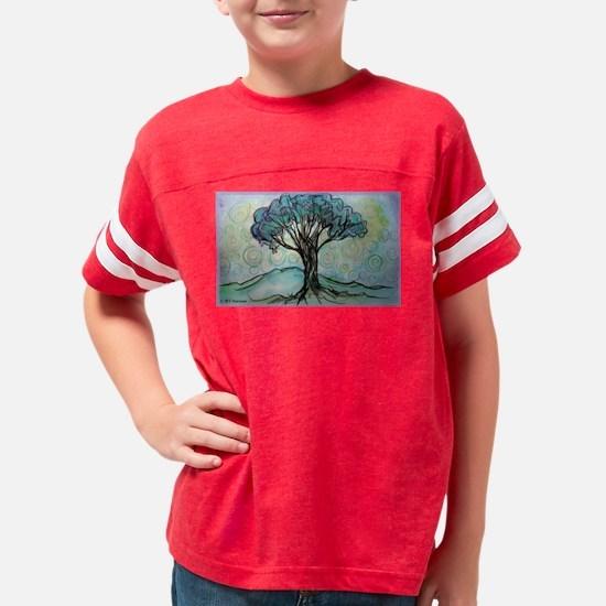 tree ! tree of life, art! Youth Football Shirt