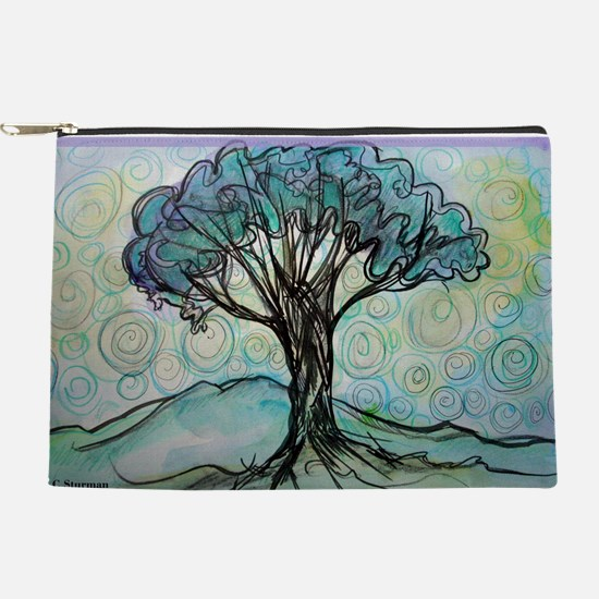 tree ! tree of life, art! Makeup Pouch