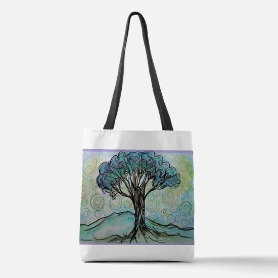tree ! tree of life, art! Polyester Tote Bag