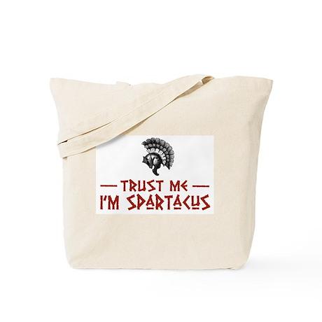 Trust Me I'm Spartacus Tote Bag