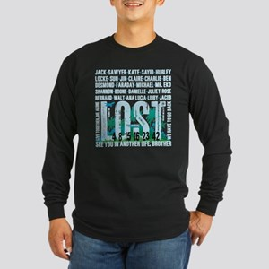 Lost Stuff 2 Long Sleeve Dark T-Shirt