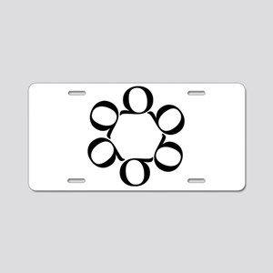 LEAN/Six Sigma Aluminum License Plate