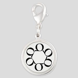LEAN/Six Sigma Silver Round Charm