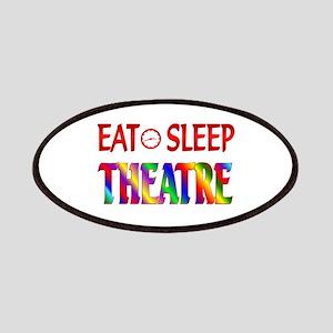 Eat Sleep Theatre Patches
