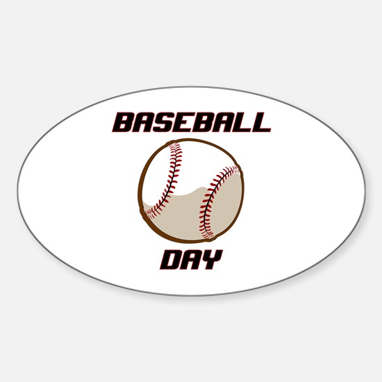 BASEBALL DAY Decal