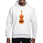 Violin Jack o'Lantern Hooded Sweatshirt