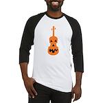 Violin Jack o'Lantern Baseball Jersey