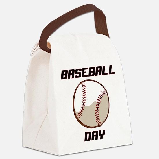 BASEBALL DAY Canvas Lunch Bag
