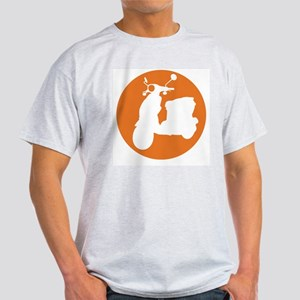 Orange Genuine Buddy Dot Ash Grey T-Shirt