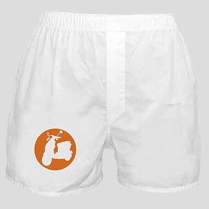 Orange Genuine Buddy Dot Boxer Shorts